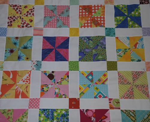 orphan charm square quilt by nanotchka