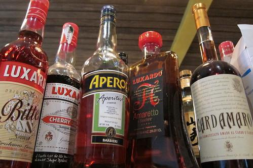 Sotto: Luxardo, Amaro, Amaretto