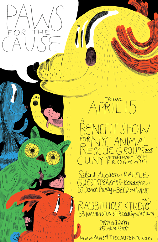 Paws for the Cause POSTER