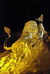 Rule of Sabanna night (kallen photography) Tags: ice japan alaska ak carving fairbanks sculpting iceartchampionships ruleofsabanna yoshinorimabuchi junkoyanagida