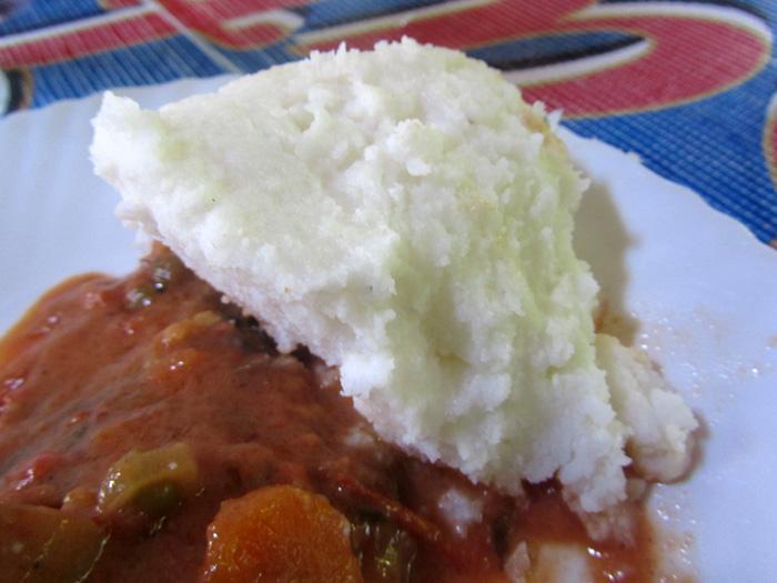 Ugali, Tanzanian Food