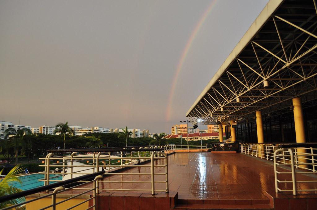 Double Rainbow!!! No way!!!