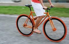 Orange Fixie (ilightwhatisee) Tags: orange bike brother hipster minimalist promax