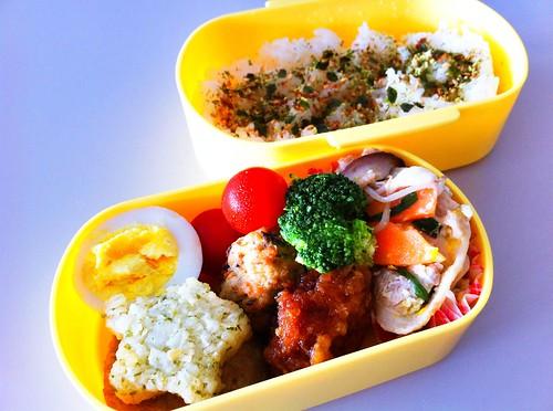 今日のお弁当 No.137 – 海苔わさび