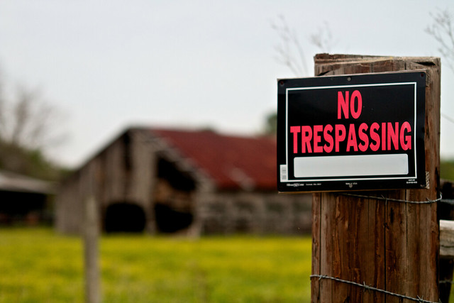 89/365: No Trespassing