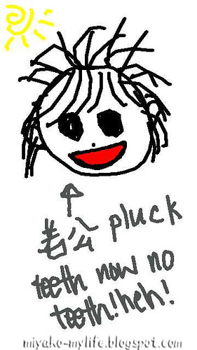 pluck teeth