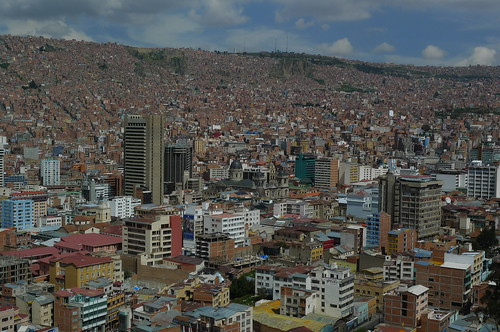 La Paz, Bolivia from Killi-Killi
