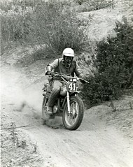 Sierra 200 Enduro , October 1972 (bcgreeneiv) Tags: classic race vintage nostalgia motorcycle yamaha 1972 enduro rt2 billgreene williamgreene