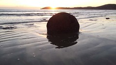 Moeraki Boulders - Filming The Sunrise