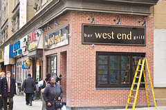 West End Bar and Grill Front