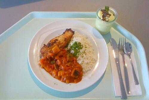 Hähnchenbrust mit Ratatouille-Gemüse