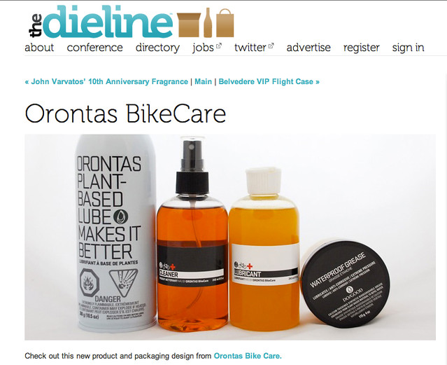 The Dieline - March 27 2011 - Online by knotpr