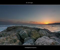 Es Carnatge III (Marcos Rodrguez Photography) Tags: blue sunset sea costa mountains azul coast mar warm wideangle calm puestadesol bluehour angular calma rocas montaas clido horaazul tokina1116
