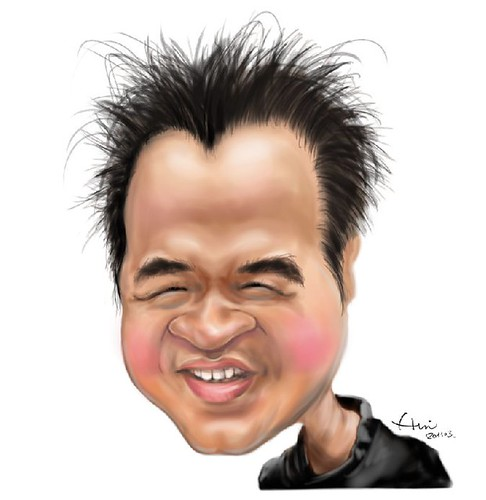 My caricature by Chia-hui Liu