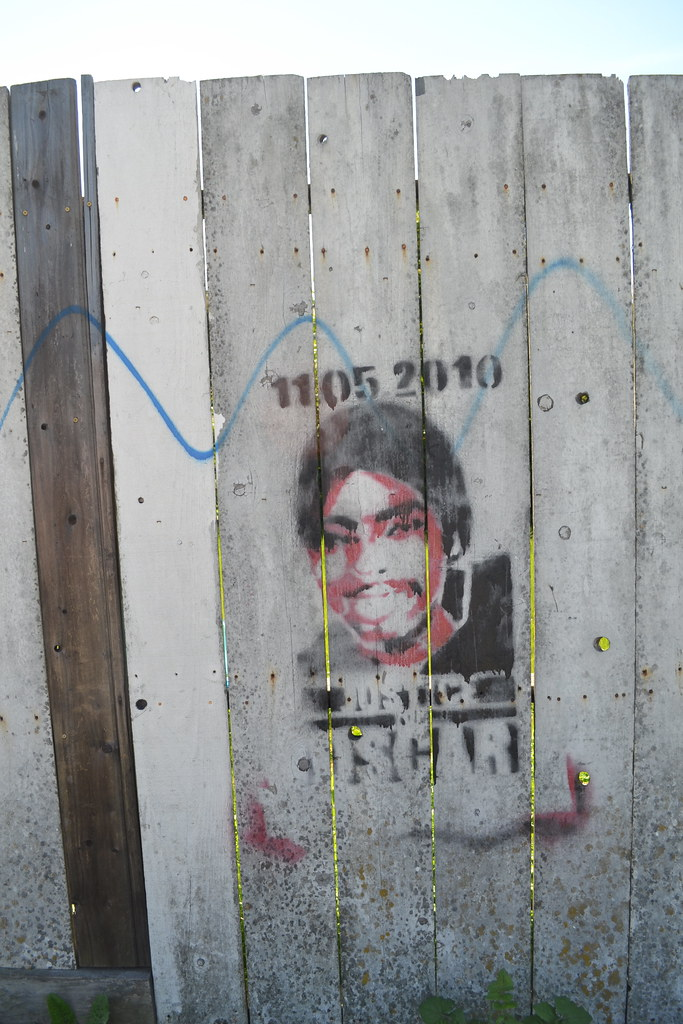 Oscar Grant, Graffiti, Street Art, Oakland,