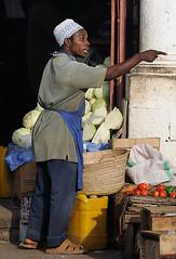 Zanzibar Market Trader