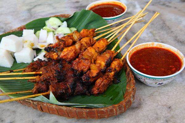 Chicken-and-Beef-Satay