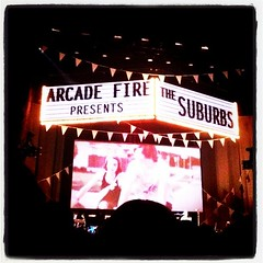 What a great concert. Ears ringing. #arcadefire - 101.365