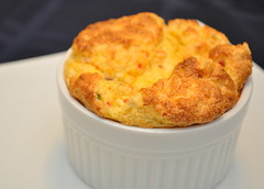 shrimp and crab souffles