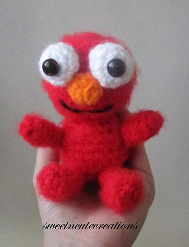 Free Crochet Pattern For Elmo Beanie : Hobi Pasaj?: Bebek Elmo :) Amigurumi Free Pattern