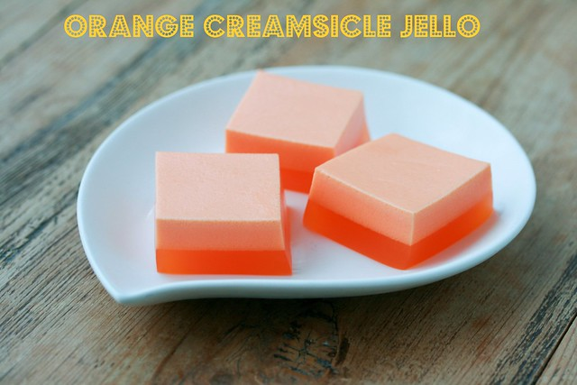Creamsicle Jello - Cool Whip & Jello