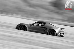 TRACK DAY // CADWELL PARK (Adam Pigott) Tags: park blue sunset bw hot adam club canon eos 350d track day slow lotus elise shutter april 12th panning motorsport camber cadwell msv hatches 2011 pigott mininurburgring 12042011