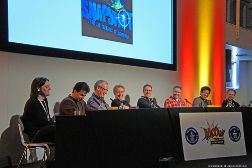 Kapow! Comic Con : The Millarworld Panel - Frank Quietly, John Romita Jr, Dave Gibbons, Mark Millar, Andy Diggle, Jock, Leinil Francis Yu , Ian Churchill by Craig Grobler