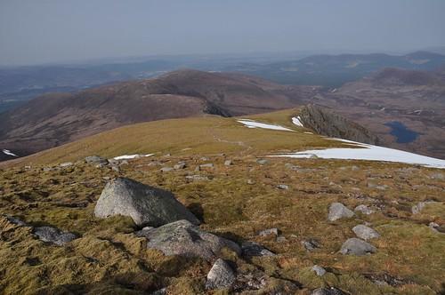 The ridge down from Sgoran Dubh Mor