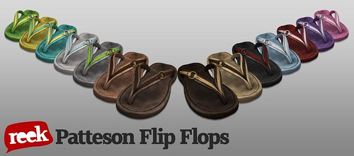 Reek - Patteson Flip Flops Fatpack Ad