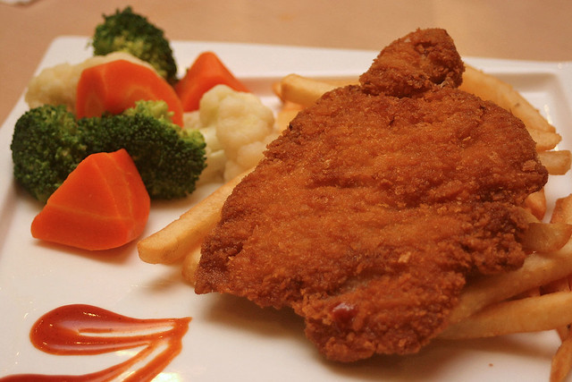 Crispy Chicken Chop