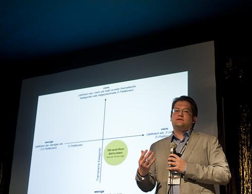 Andreas Jungherr auf der re:publica 2011