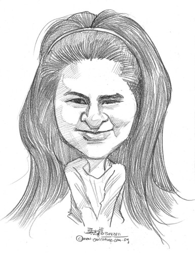 caricature in pencil - 64