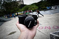 Olympus E-PL2 (yaw yong xin) Tags: camera lumix singapore somerset olympus orchard panasonic equipment skatepark lx5 epl2