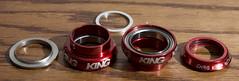 Chris King 1.125 NoThreadSet Red New (erikkellison) Tags: new chris red king 1125 nothreadset