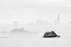 Ferry in fog (edwindejongh) Tags: sanfr