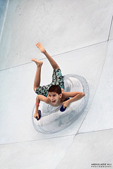 - Extreme 78/356 ~Explored! (A.Aziz Ali) Tags: water pool swimming fun bahrain play extreme tube surfing scream splash canon85mmf18usm canoneos50d abdulazizaliphotography