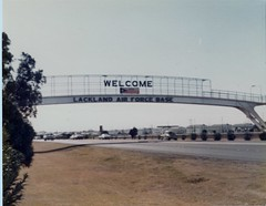 Entrance to Lackland Air Force Base