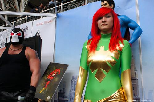 Kapow! Comic Con : Cosplay - Bane & Phoenix by Craig Grobler