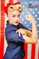 rosie-the-riveter-pinup (Pussycat Pinup Photography) Tags: california art vintage photo losangeles riverside sandiego lasvegas flag picture retro photograph oceanside orangecounty swimsuit fullerton temecula huntingtonbeach pinup pinups