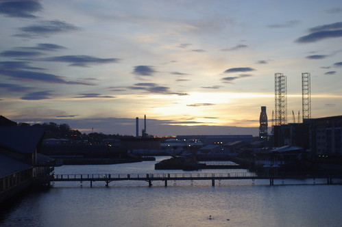 the dawn in Dundee