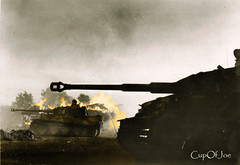 Tiger's on the advance Kursk, Orel (Cup0fJoe) Tags: tank russia ww2 1943 orel kursk easternfront tiger1 oreloryol