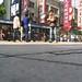 Gliding down Nanjing road