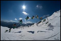 Hip and kick Jim Dabbadie (Trialxav) Tags: snow ski apple photoshop macintosh mac nikon freestyle kick osx hip d200 cs4 cauterets séquence ho5park trialxav