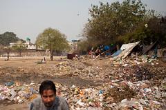 Delhi: Squatter's Camps (kaydeesquared) Tags: portrait india delhi laundry roadside february squatters 2011