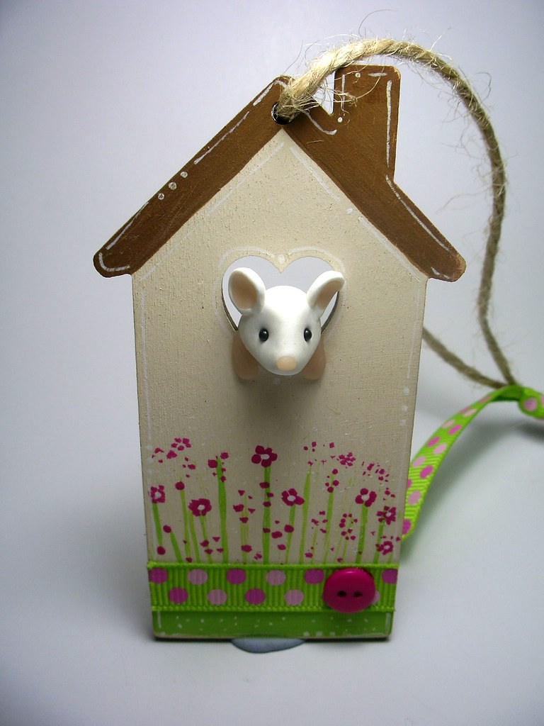 Mouse House Ornament