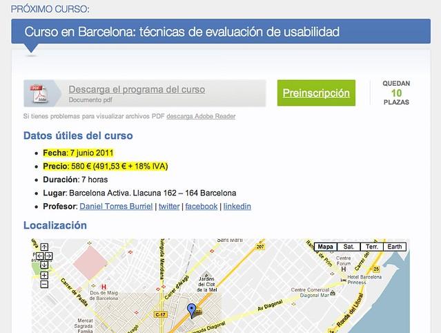 Curso de UX Learn en Barcelona