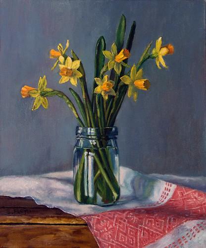 20110414 Tete-e-Tete Daffodils 12x10