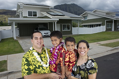 Kanani Velasco and her family in front of their new solar-equipped home (SolarWorld USA) Tags: solar made american solarpanels madeinamerica solarworld usamade hawaiisolar hawaiianhomelands solarworldhillsboro kaupunivillage solarworldoregon solarworldportland solarworldmadeinamerica solarworldmadeinus ussolarworld madeamerican panelsamerican