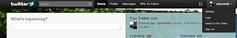 ツイッターの検索窓画像