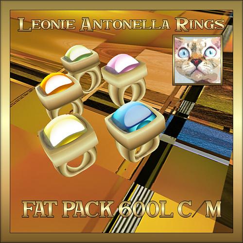 Leonie Antonella Rings Fat Pack by Leonie22